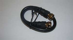 Picture of Molded male-to-male RF cable
