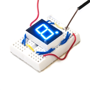Picture of 7-Segment Blue LED