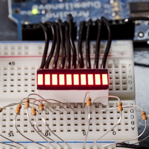 Picture of 10 Segment LED Bar Graph - Red