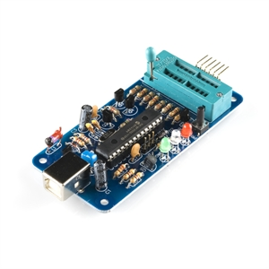 Picture of MPLAB Compatible Mini USB PIC Programmer