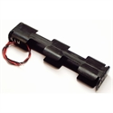 Picture of Battery Holder - 4xAA Rectangle
