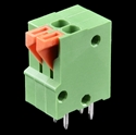 Picture of Spring Terminals - PCB Mount (2-Pin)