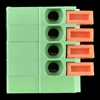 Picture of Spring Terminals - PCB Mount (4-Pin)
