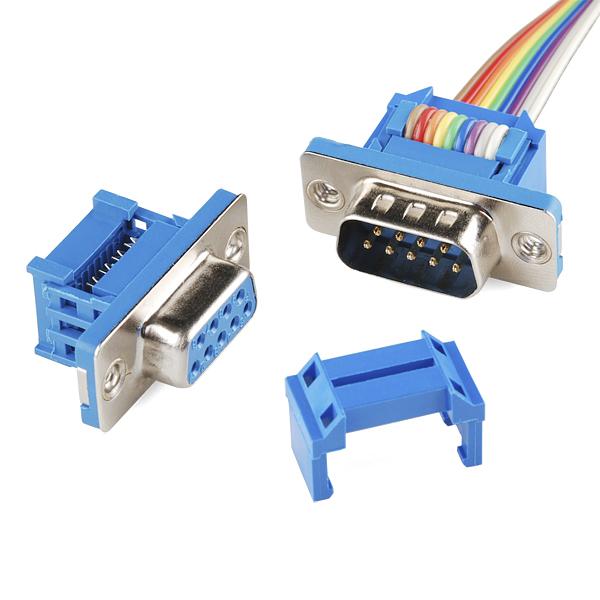 Ribbon Cable Plug : Hobbytronics serial connector ribbon cable female pin