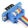 Picture of Serial Connector - Ribbon Cable (Female, 9-pin)