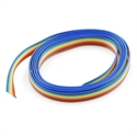 Picture of Ribbon Cable - 6 wire (3ft)