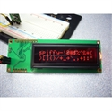 Picture of Serial Enabled 16x2 LCD - Red on Black 5V