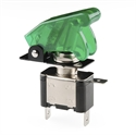 Picture of Toggle Switch and Cover - Illuminated (Green)