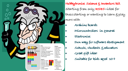Hobbytronics Inventor &amp; Science Kit