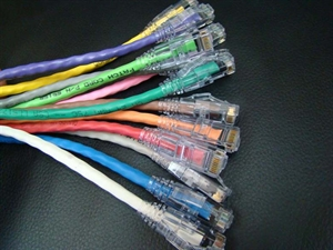 Picture of Assorted CAT5 patch cables