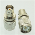 Picture of Adapter BNC female jack to TNC male plug RF connector straight