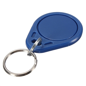 Picture of RFID / NFC Smart card key chain - Mifare 1k S50 IC 13.56MHz R/W