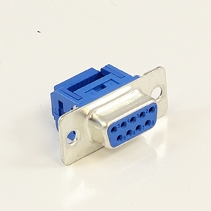 Picture of DB9 Female IDC Crimp Connectors for Flat Ribbon Cable