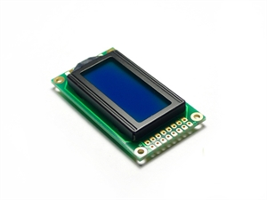 Picture of LCD 8x2 Characters Blue back light