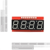 Picture of 7-Segment Serial Display - Red