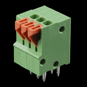 Picture of Spring Terminals - PCB Mount (3-Pin)