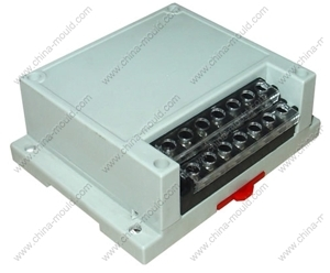 Picture of DIN Rail Mount enclosure 115x90x41