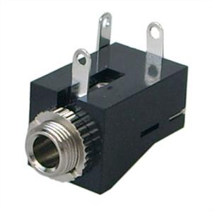 Picture of Audio Socket - Panel Mount  - 3.5mm - Mono