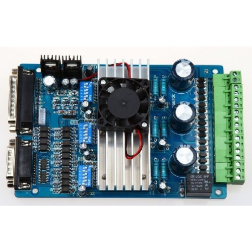 Hobbytronics cnc controller tb6560 3 0a stepper motor for Cnc stepper motor controller