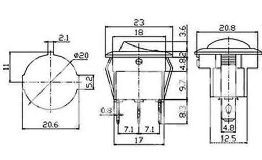 hobbytronics  12v led switch