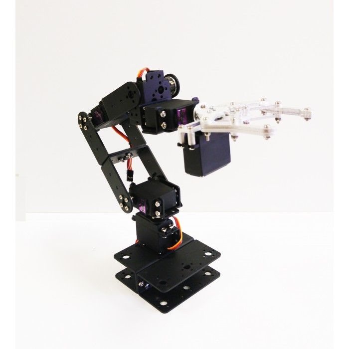 180 Degrees 6 DOF Servo robot Arm Mount Kit For Arduino