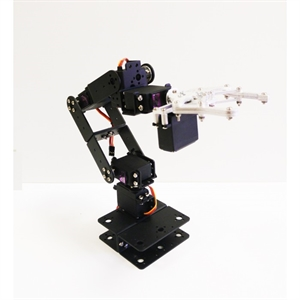Picture of Robotpark 6 DOF Aluminum Robot Arm Kit Info