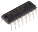 Picture of Texas Instruments CD74HC4017EE4 5-stage Decade Counter, Up Counter, 2 → 6 V, 16-Pin PDIP