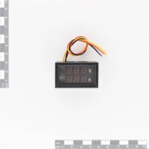 Picture of DC 4.5-30V 0-50A Dual LED Digital Volt and Amperage Meter
