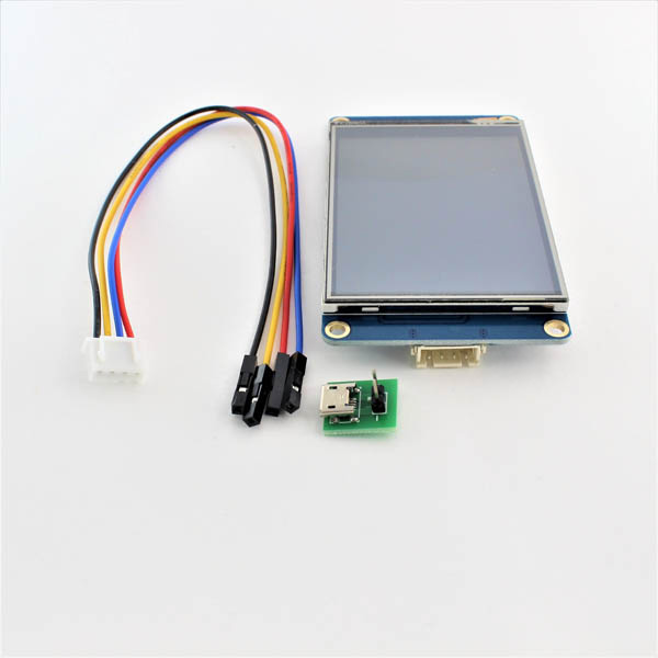 Hobbytronics  Nextion HMI TFT Screen and Resistive Touch