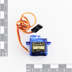 Picture of Small 1.6kg/cm plastic gears servo