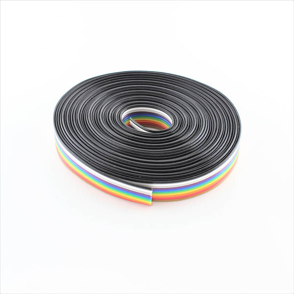 Hobbytronics. Ribbon Cable - 10 wire (15ft)
