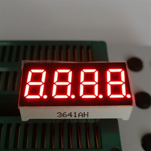 Picture of 4 Digit 7 Segment Display - 9.2mm