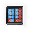 Picture of Sealed Membrane 4x4 button / key pad with sticker