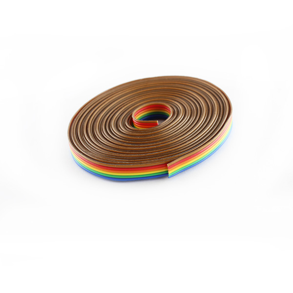 Ribon Wire | Hobbytronics Ribbon Cable 6 Wire 15ft