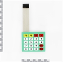 Picture of Sealed Membrane 4x5 button / key pad with sticker