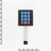 Picture of Sealed Membrane 4x3 button / key pad with sticker