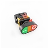 Picture of Momentary Push Button On/Off Panel Mount with Light Indicator