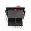 Picture of Red On/Off Rocker Switch with Indicator Light