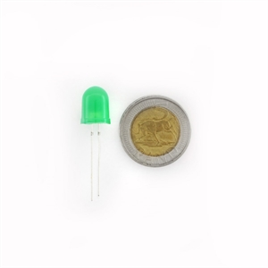 Picture of Diffused LED - Green 10mm