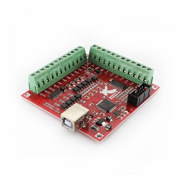 Hobbytronics  Mach3 USB 4 Axis 100KHz Smooth Stepper Motion