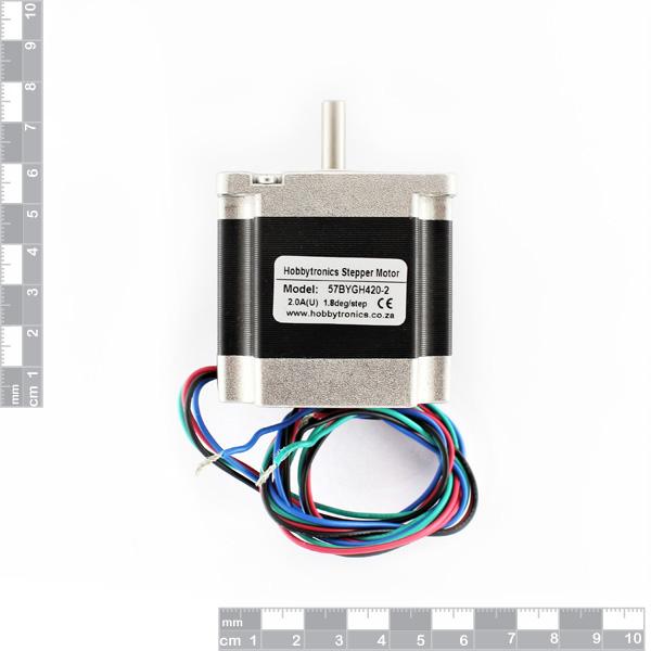 Nema 10 50 Wiring | Hobbytronics Nema 23 Stepper Motor