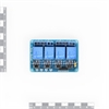 Picture of 4 Channel Relay Module With opto coupler - 5V