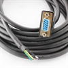 Picture of Leadshine Encoder Cables 1 x DB15, 6pin + GND, CABLEH-BMxMx