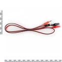 Picture of Alligator Test Leads - Clip To Banana Plug Probe Cable 1M