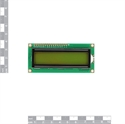 Picture of LCD 16x2 Characters Yellow back light