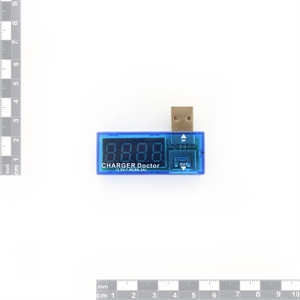 Picture of USB Charger Doctor - In-line Voltage and Current Meter