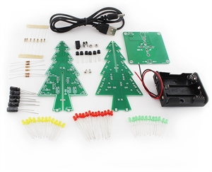 Picture of Christmas Tree Soldering Kit