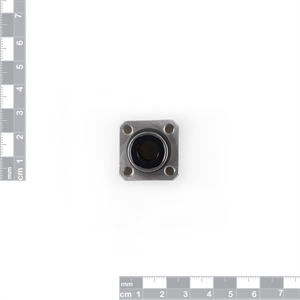 Picture of Linear Axis Ball Bearing with Bush -  Square Flange